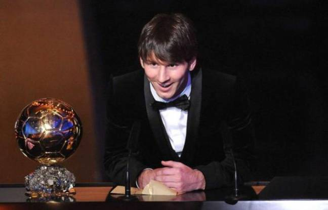 ballon d 39 or 2011 revivez le sacre de messi en live comme la maison. Black Bedroom Furniture Sets. Home Design Ideas