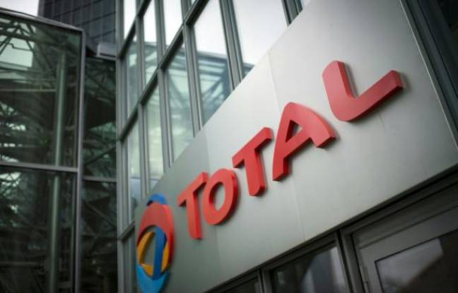 Illustration: Logo du groupe Total