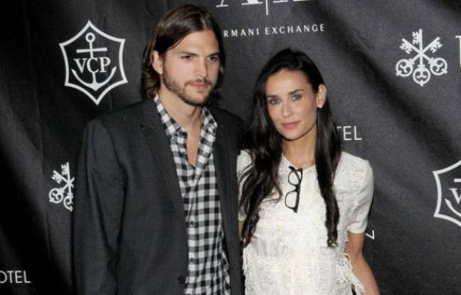 Ashton Kutcher et Demi Moore à New York, le 9 juin 2011.