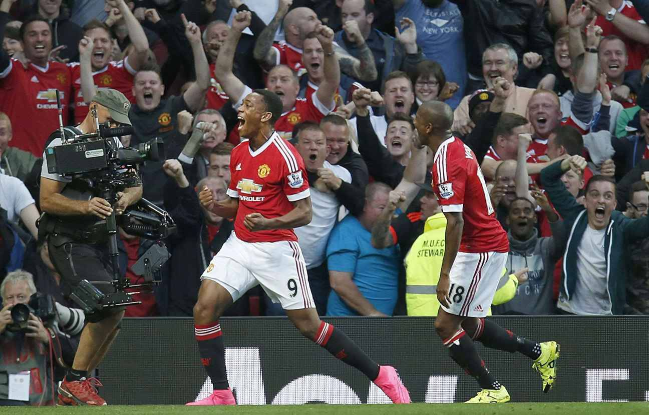 Premier but pour Martial avec Manchester United, qui bat Liverpool (3-1)