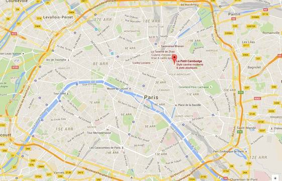 Attentats paris le d roul des v nements minute par - Paris gallieni porte bagnolet google map ...