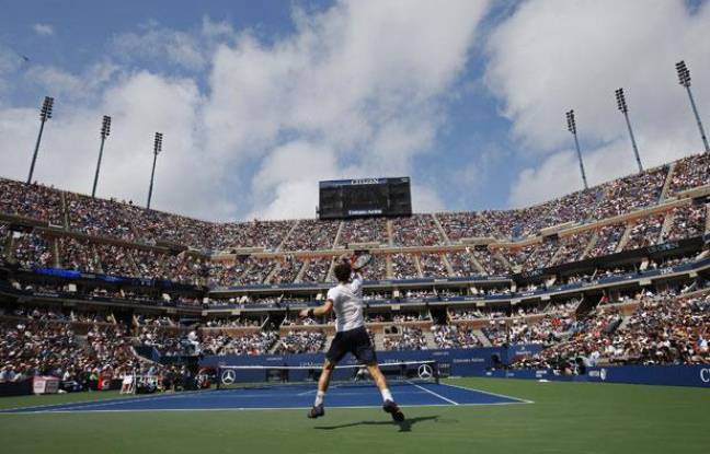 Andy Murray sur le Central de l'US Open, le 8 septembre 2012 à New-York.