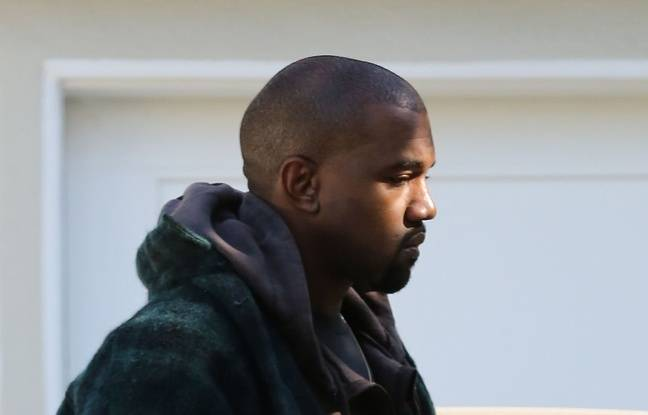 Kanye West à Los Angeles le 27 novembre 2015