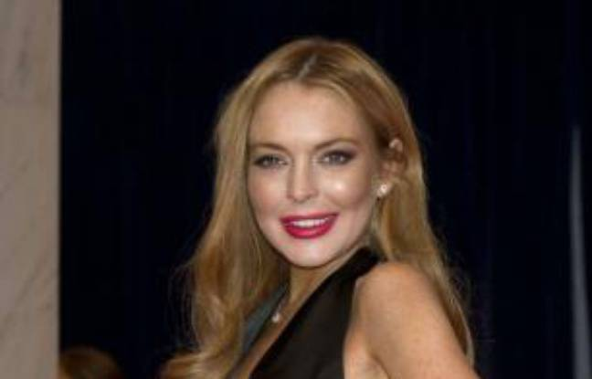 Lindsay Lohan à Washington, le 28 avril 2012.