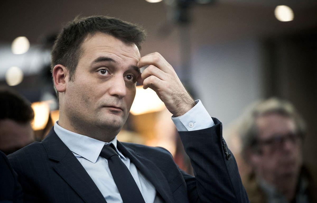 Florian Philippot, le 2 décembre 2016 à Paris. – N.MESSYASZ/SIPA