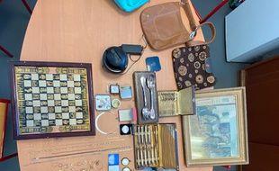 Les gendarmes de la Gironde ont récupéré une partie des objets volés