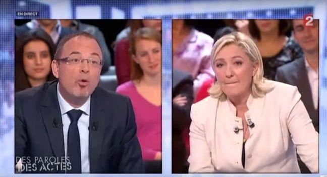 Yann Galut face à Marine Le Pen