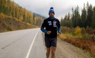 Sébastien Sasseville a couru l'équivalent de 180 marathons en 9 mois à travers la Canada.