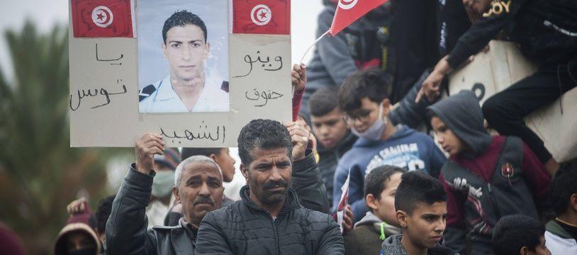 Des manifestations ont eu lieu à Sidi Bouzid, le 17 décembre, dix ans après la mort de Mohamed Bouazizi.