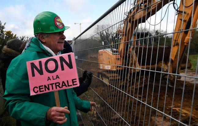 Bretagne: La contestation monte contre le projet de centrale à gaz de Landivisiau