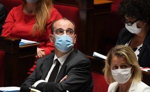 Jean Castex à l'Assemblée nationale, le 16 juillet 2020.