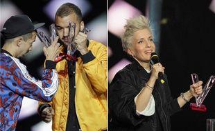 Bigflo & Oli et Jeanne Added ont été sacrés artistes de l'année aux 34e Victoires de la musique, le 8 février 2019 à Paris.
