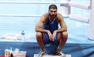 Mourad Aliev est resté sur le ring pendant 45 minutes