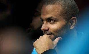 Tony Parker à Dallas, le 13 octobre 2018.