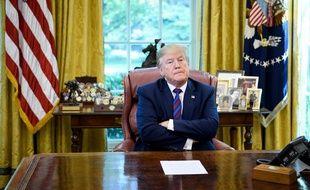 Donald Trump, le 26 juillet 2019 à la Maison blanche.