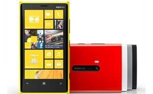 Le Lumia 920 de Nokia.