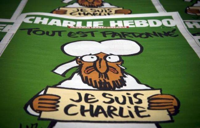 La Une de Charlie Hebdo le 14 janvier 2015