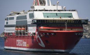Le ferry de la compagnie Corsica Linea est arrivé à Marseille