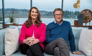 Bill et Melinda Gates en 2019.