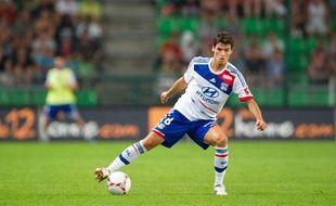 Yoann Gourcuff, de retour sur la pelouse de club formateur, le 11 août 2012 à Lyon.