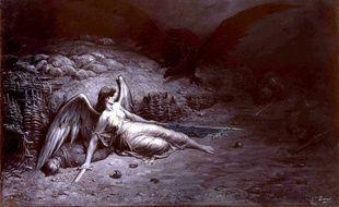 Aigle noir de la Prusse, par Gustave Doré