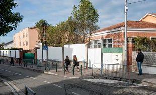 L'école juive Ohr Torah (anciennement Ozar Hatorah) à Toulouse le 19 mars 2013.