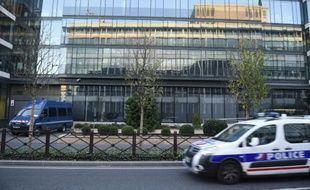 Le siège de la Sous Direction de la Lutte Anti-Terroriste (SDAT)à Levallois-Perret