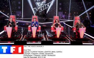 Le jury de la saison 3 de «The Voice».