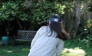 Avec Worldsense, Google peut déterminer la position d'un casque de réalité virtuelle dans l'espace (illustration).