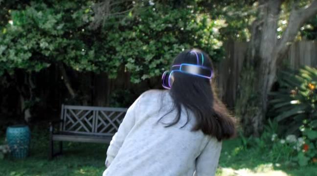 Avec Worldsense, Google peut déterminer la position d'un casque de réalité virtuelle dans l'espace (illustration). – GOOGLE