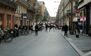 A Toulouse, les commerçants ont vu fondre leur chiffres d'affaires de décembre de 20 à 70%.
