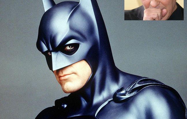 George Clooney dans Batman et Robin.