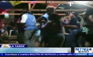 Des observateurs de l'ONU ont été filmés dansant avec des membres des Farc