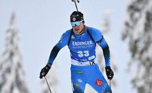 Emilien Jacquelin a terminé troisième du sprint samedi aux Mondiaux de Pokjluka.