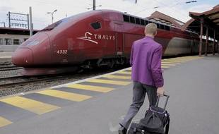 Un train Thalys