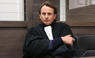 Strasbourg le 12 janvier 2014. - Michael Wacquez, l'avocat de la défense.