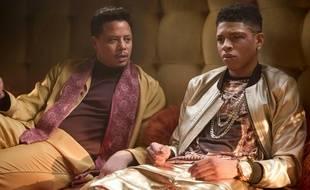 Terrence Howard et Yazz dans la série «Empire», sur Fox.