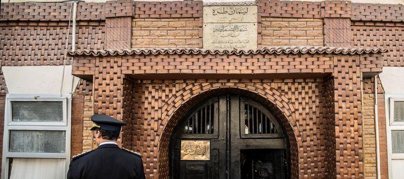 Une entrée de prison, au Caire, la capitale égyptienne.