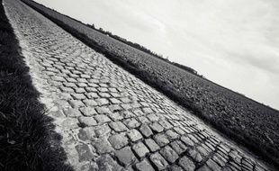 Les pavés de Paris-Roubaix.