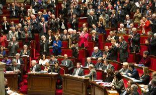 L'assemblée nationale. Paris, FRANCE - 02/12/2014./CHAMUSSY_lcham022/Credit:CHAMUSSY/SIPA/1412021647