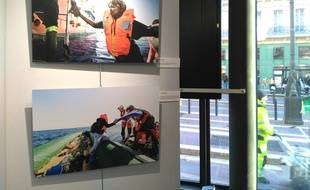 Sur la Canebière, la mairie du 1-7 accueille l'exposition de SOS MéditerranéMarseille