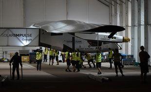 10e étape réussie pour l'avion solaire Solar Impulse arrivé à Phoenix, le 3 mai 2016.