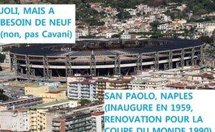 L'état du San Paolo est une des raisons qui l'expliquent