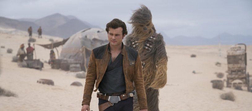 Alden Ehrenreich dans Solo: A Star Wars Story.