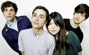 The Pains of Being Pure at Heart, quartet originaire de Brooklyn.