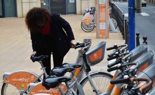Un VéloMagg, créé par Smoove, à Montpellier.