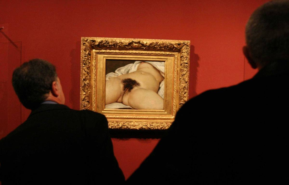 """L'origine du monde"" de Gustave Courbet. – GINIES/SIPA"