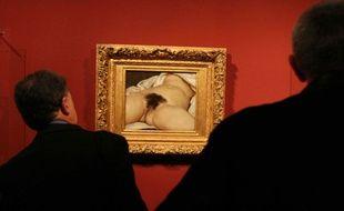 """""""L'origine du monde"""" de Gustave Courbet."""