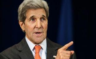 Le secrétaire d'Etat John Kerry à Washington le 18 novembre 2015