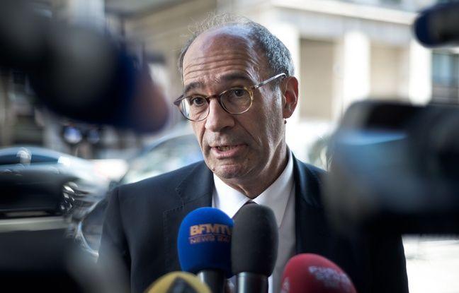 Eric Woerth, député UMP de l'Oise, le 15 avril 2015 à Paris.